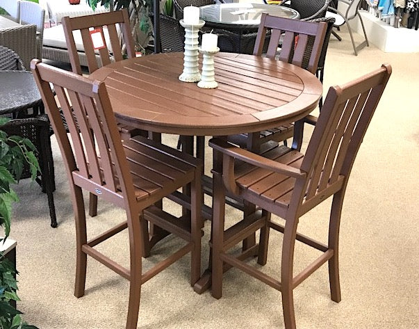 Casual Brown Dining Set
