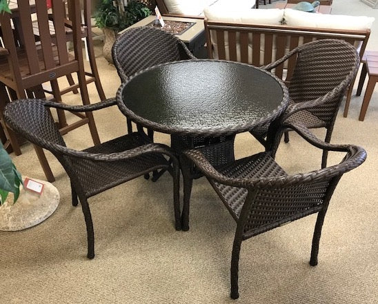 Woven Dining Set