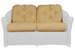 L.F. Reflections Love Seat - Seats & Backs, Item#: C-L1214