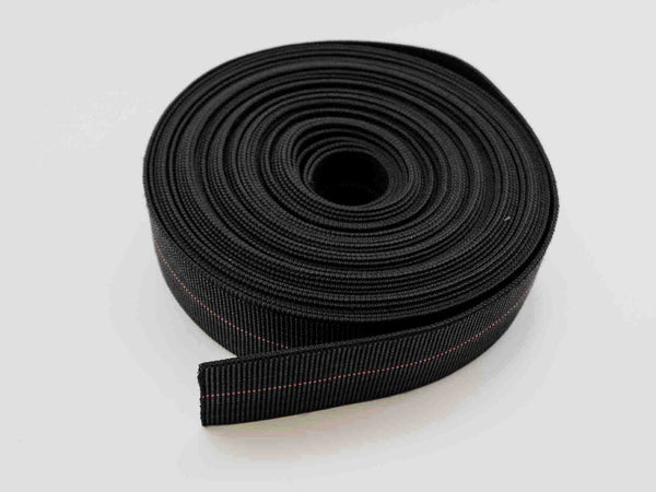 "55 Foot Roll 2"" Redline Webbing Elastic Strap for wood/wicker furniture. 