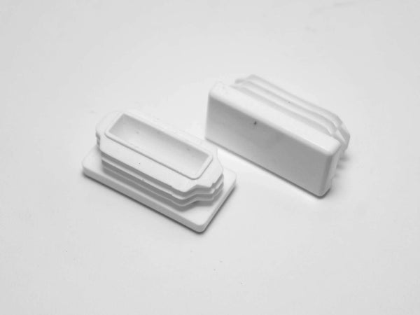 White Rectangular Multi Gauge Glide / Insert : Qty 25 | Item #: 30-616