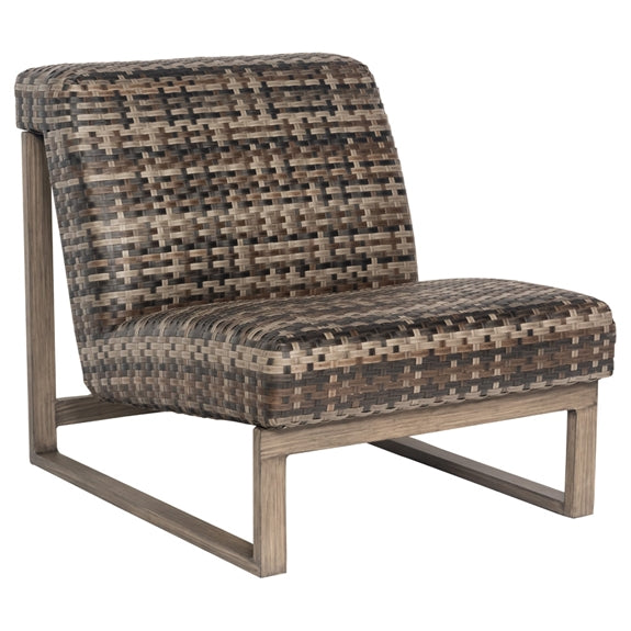 Woodard Reunion Armless Lounge Chair