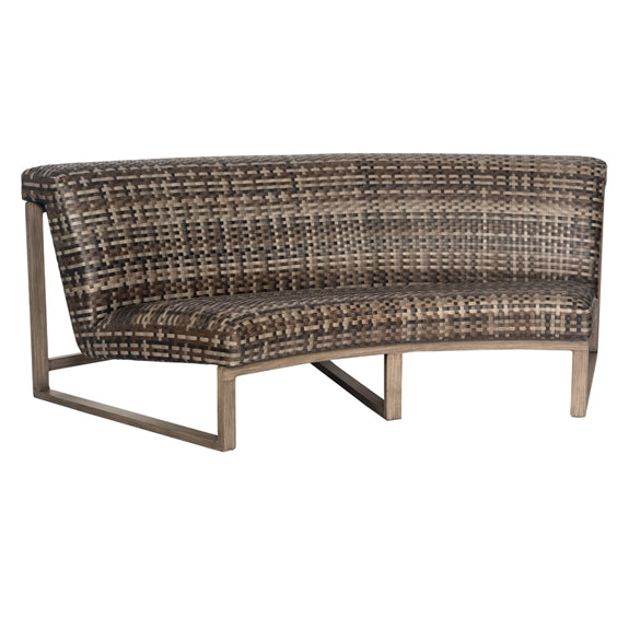 Woodard Reunion Curved Sofa