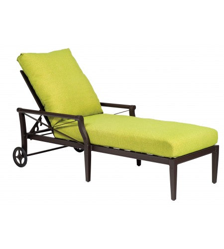 Andover Adjustable Chaise Lounge - Waterfall Cushion- Item 51M470