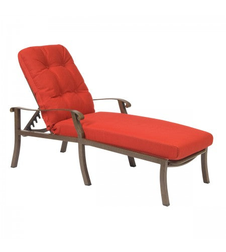 Cortland Cushion Adjustable Chaise Lounge- Item 4ZM470