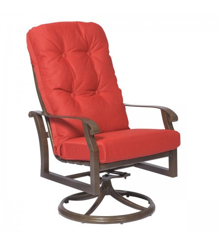 Cortland Cushion High-Back Swivel Rocker- Item 4ZM488