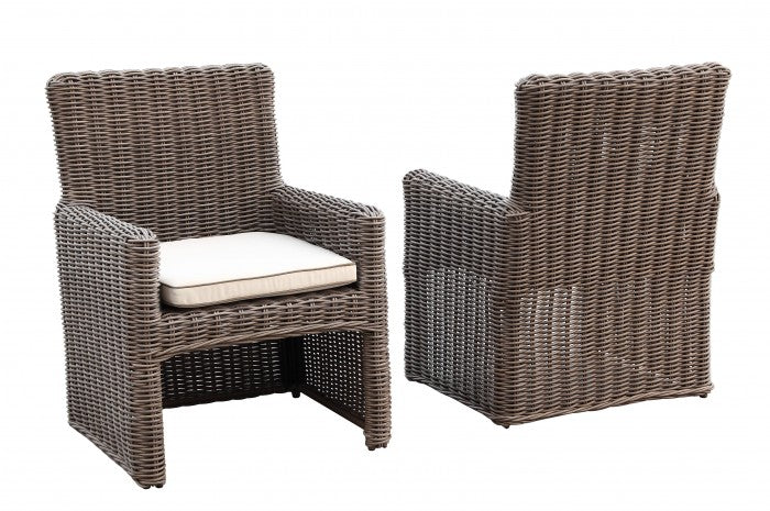 Coronado Wicker Dining Chair Item 2101 1 Sunniland