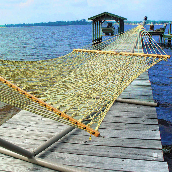 Large Original DuraCord Rope Hammock - Tan