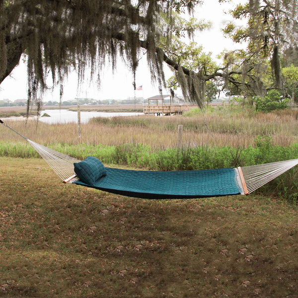 Green Large Soft Weave Hammock