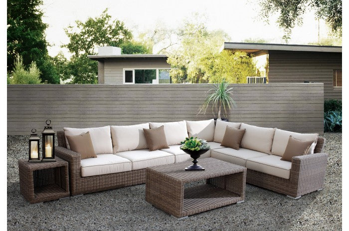 Coronado Wicker  6pc Sectional | Item 2101-SEC