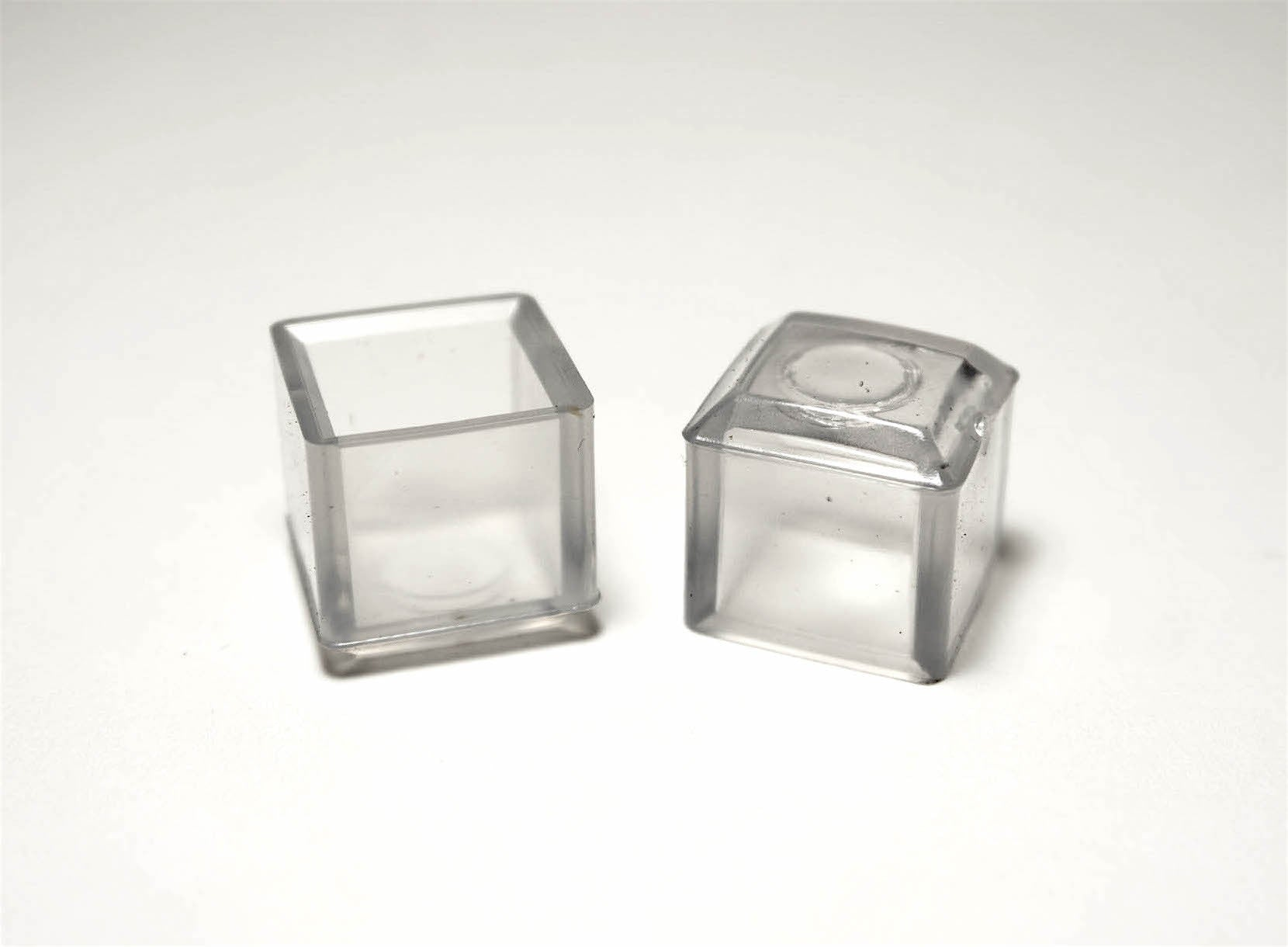 "5/8"" Square Vinyl Cap/Glide 