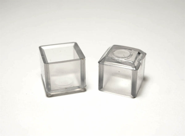 5 8 Quot Square Vinyl Chair Leg Protector Clear Item 30