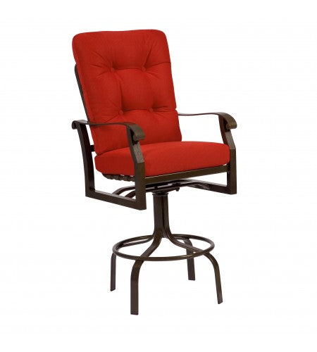 Cortland Cushion Swivel Bar Stool- Item 4Z0468