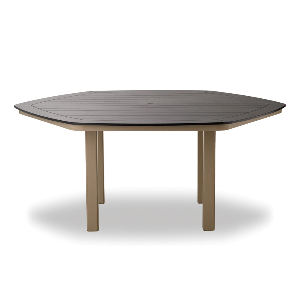 "Telescope Casual Marine Grade Polymer 62"" Hexagonal Dining Table"