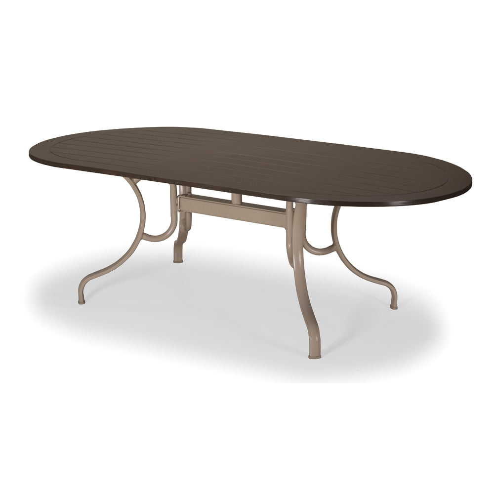 "Telescope Casual 42"" by 84"" MGP Oval Dining Table"