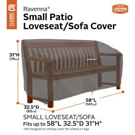 Ravenna Loveseat Cover