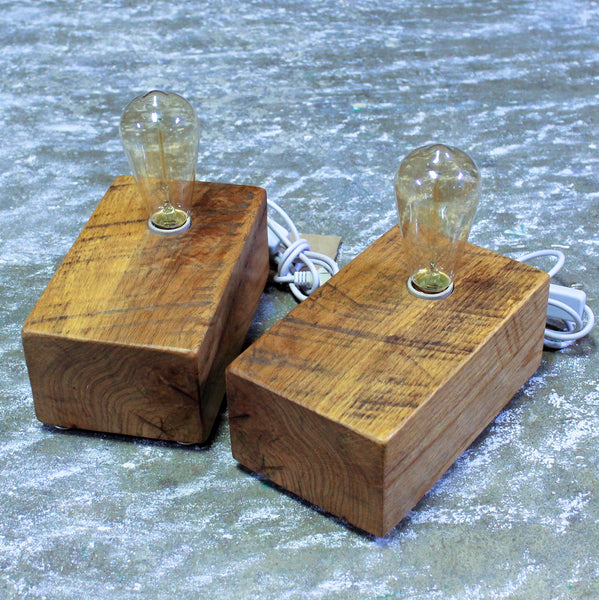 Reclaimed Wood Desk or Table Lamp