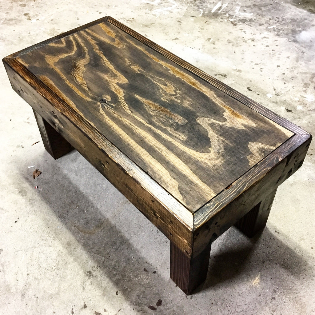 Medium Reclaimed Wood Bench