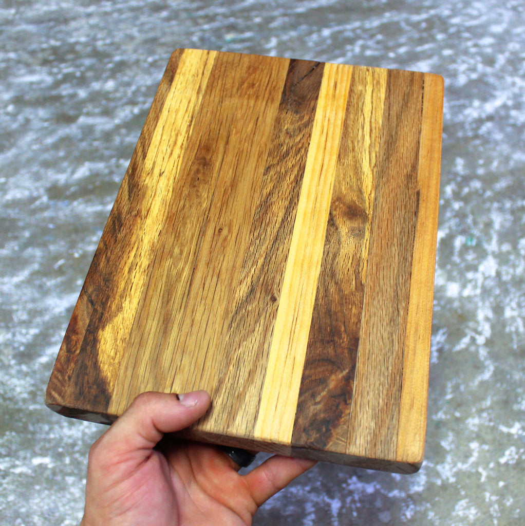 Wave - Reclaimed Wood Cutting Board