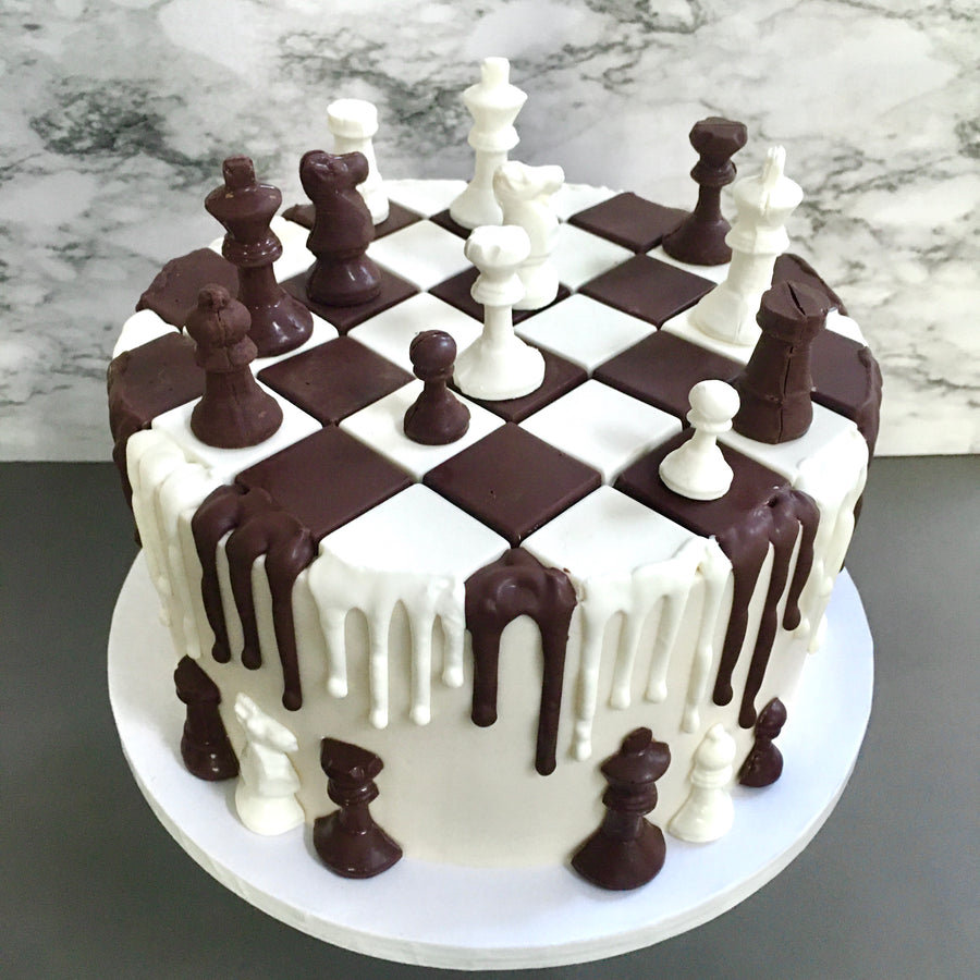 Chess Pieces Chocolate Mold