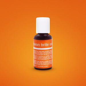 Neon Brite Orange Icing Color