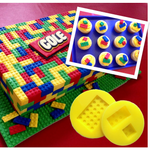 Building Block Cake Molds
