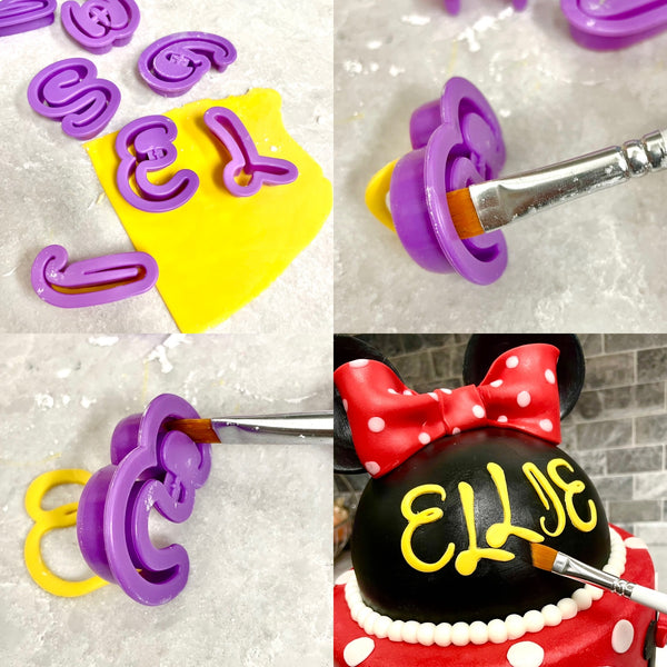Disney-style Letter and Number Cutters