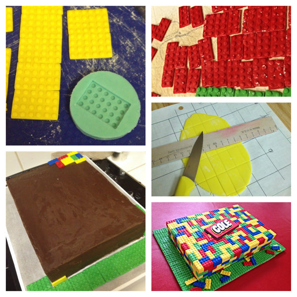 Building Block Cake Mold