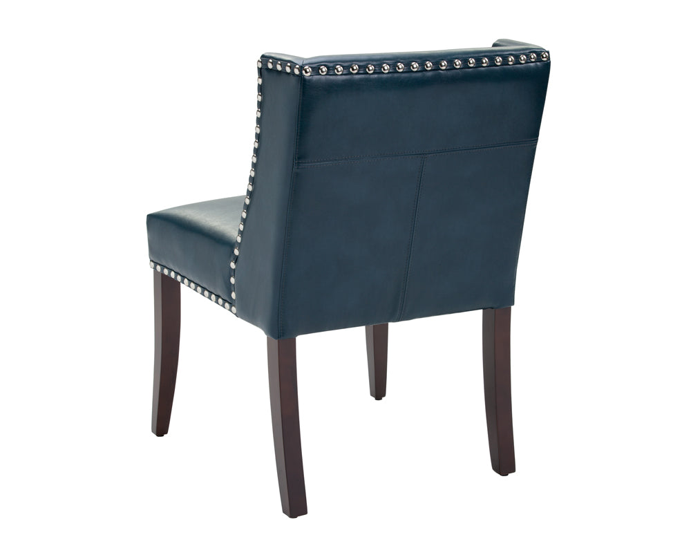 Surprising Halo Dining Chair Nobility Blue Price Shown Per 2 Piece Bright Modern Furniture Pabps2019 Chair Design Images Pabps2019Com