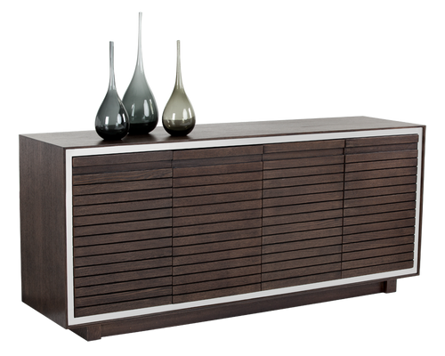 JAKAR ESPRESSO WOOD WITH AN OAK VENEER SIDEBOARD for $2120.00