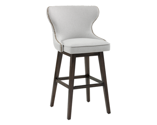 ANDREA LIGHT GREY SWIVEL BARSTOOL for $950.00
