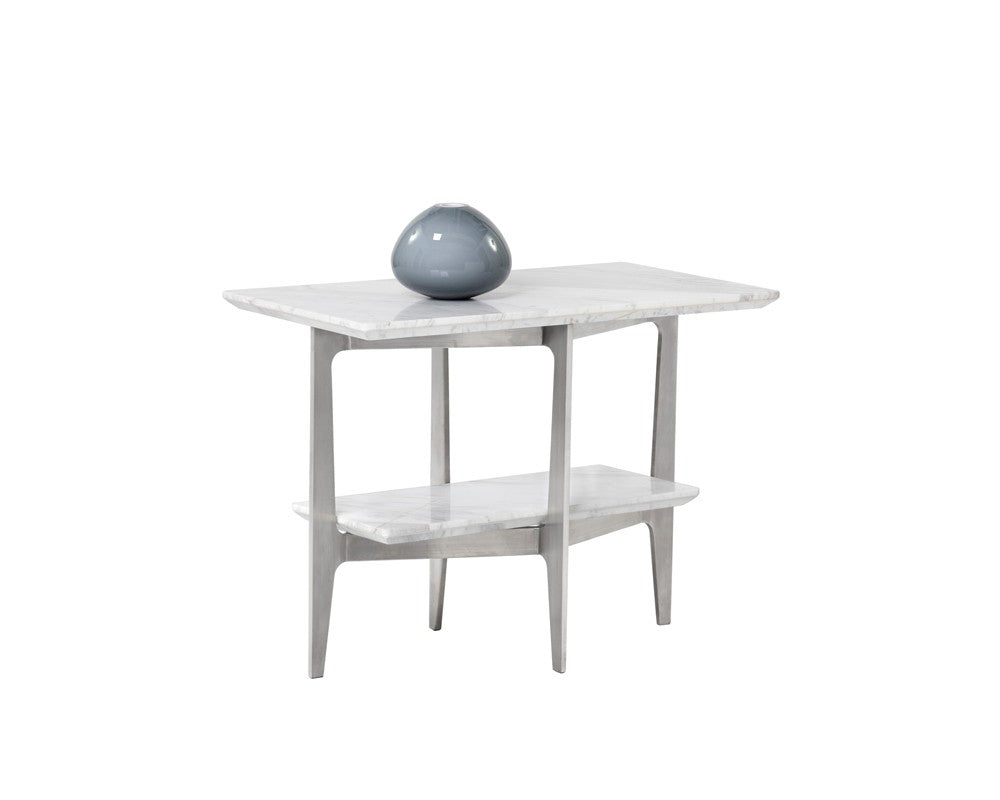 end products c white table