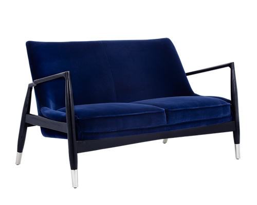 FRIGO GIOTTO NAVY FABRIC SETTEE for $3390.00