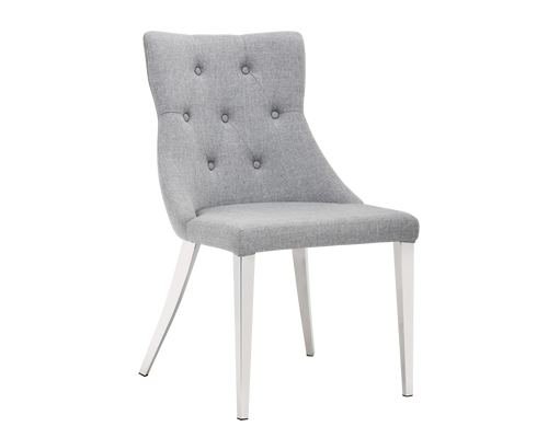 ADRIAN DINING CHAIR - CLOUD GREY (PRICE SHOWN PER 2 PIECE) for $745.00