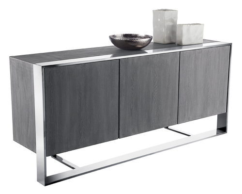 DANTON DARK GREY-GERMAN OAK VENEER SIDEBOARD for $4990.00