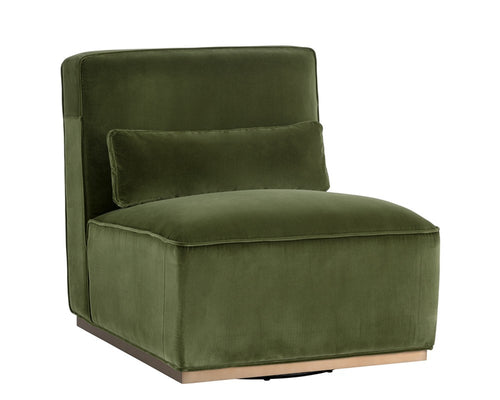 CALDEON HANNIGAN OLIVE SWIVEL CHAIR for $1910.00