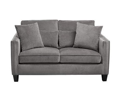 CHATLINE PORTSMOUTH GREY FABRIC LOVESEAT for $2940.00