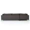 ADRIAN CHARCOAL 2 PC SECTIONAL SOFA - BENNETT CHARCOAL for $3300.00