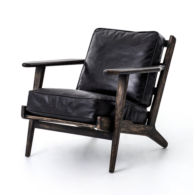 MALIBU LOUNGE CHAIR - RIALTO EBONY for $1475.00