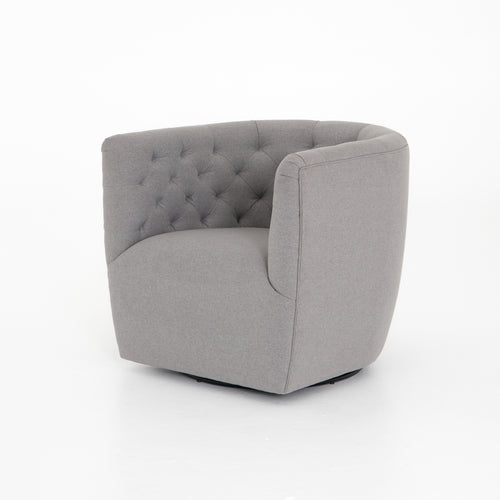 EMORY TUFTED SWIVEL CHAIR - DEVON HEATHER for $1230.00