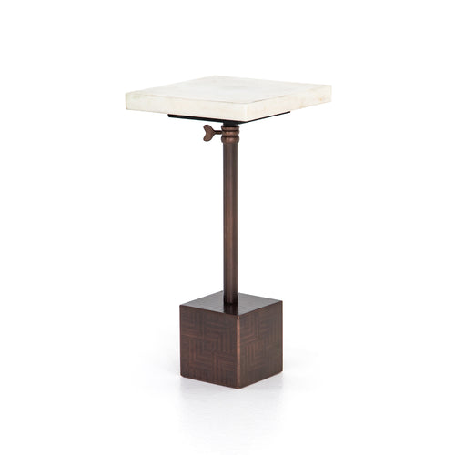 side tables_end tables_antique brass side tables_contemporary side tables_marble top side table