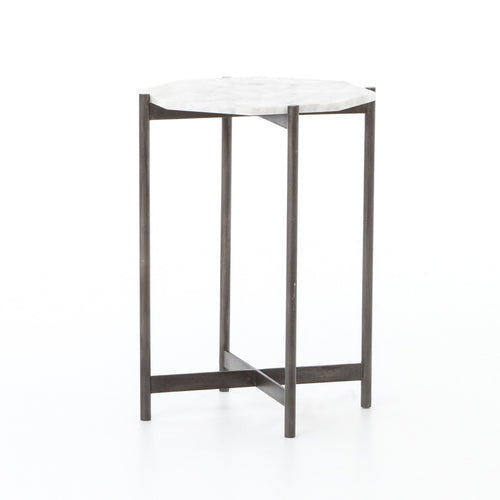 AIDA SIDE TABLE - HAMMERED GREY for $695.00