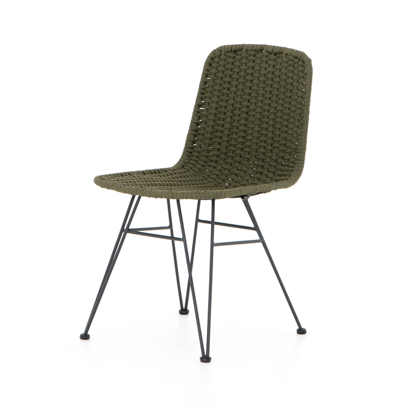 FRED OUTDOOR DINING CHAIR-OLIVE ROPE for $750.00