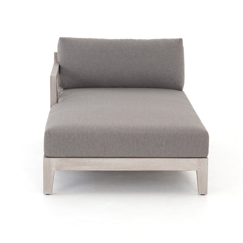MONTGOMERY GREY LAF CHAISE for $2800.00