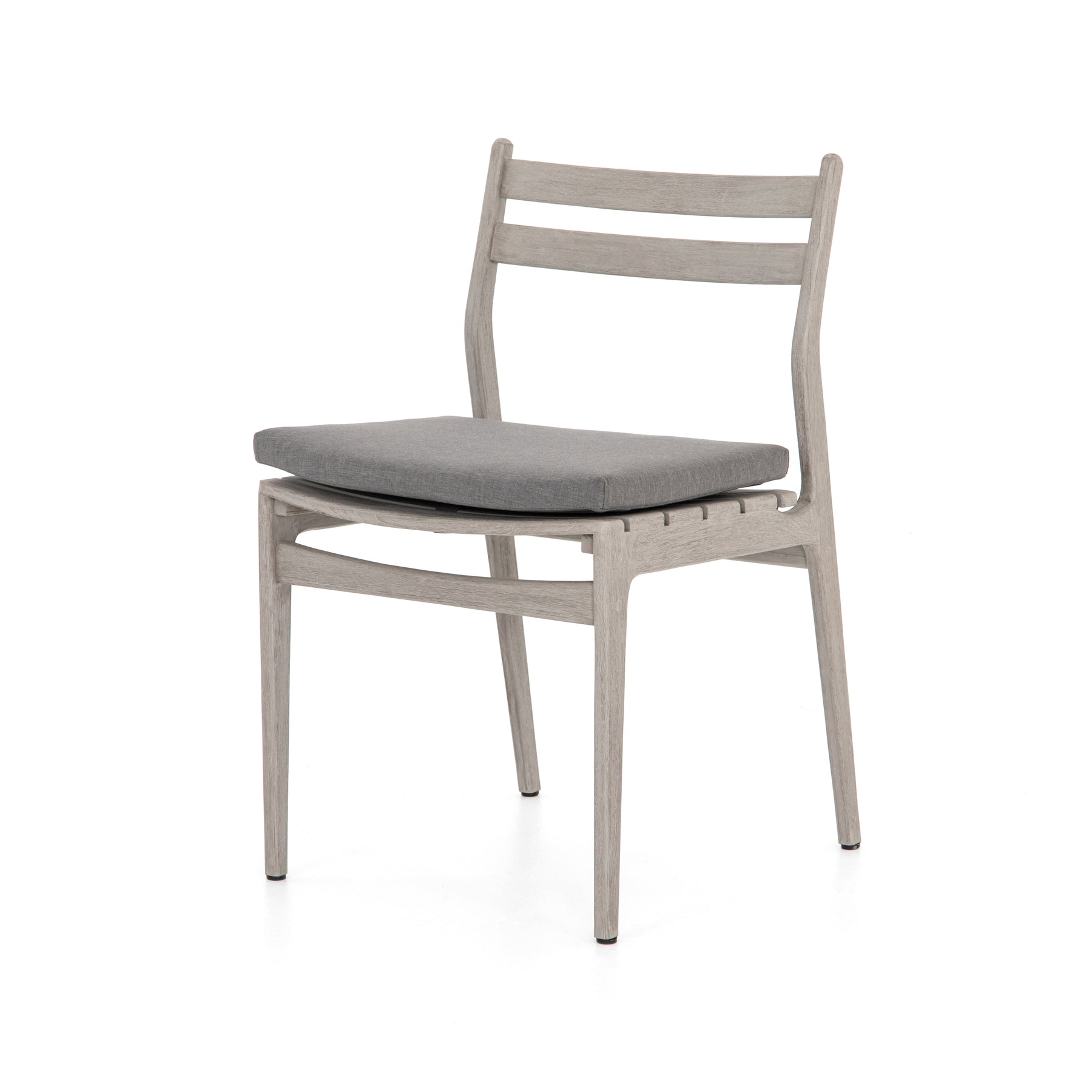 Swell Anthony Grey Teak Outdoor Dining Chair Charcoal Bright Pdpeps Interior Chair Design Pdpepsorg