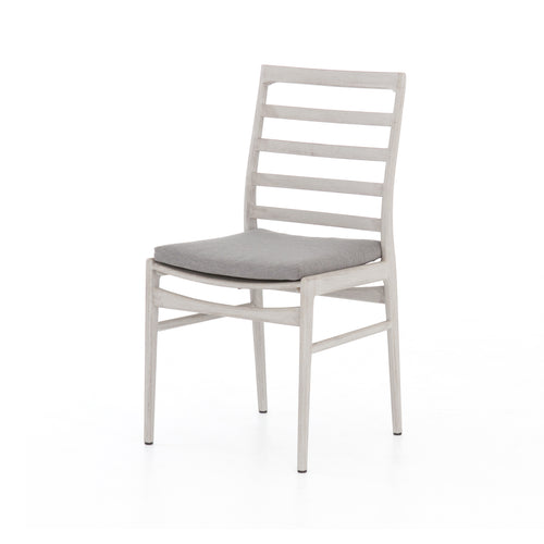 LINEAR GREY TEAK OUTDOOR DINING CHAIR for $585.00