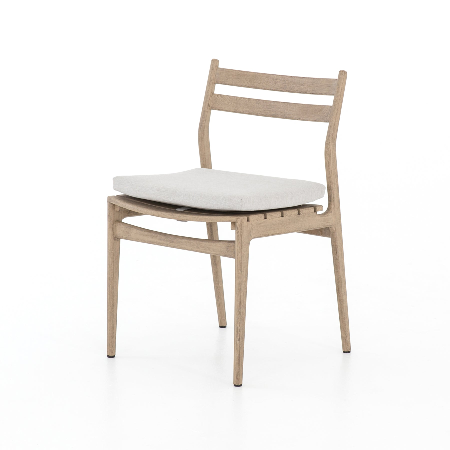 Groovy Anthony Brown Teak Outdoor Dining Chair Bright Modern Pabps2019 Chair Design Images Pabps2019Com