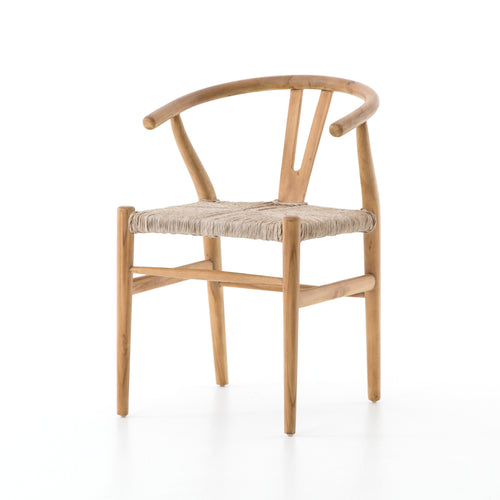 MATRA NATURAL TEAK OUTDOOR DINING CHAIR for $385.00