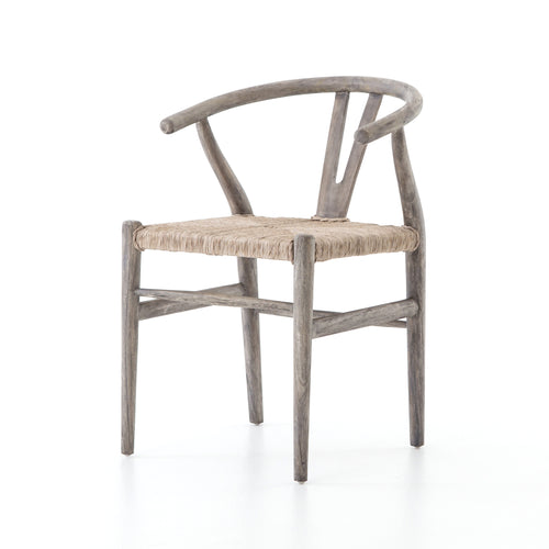 MATRA WEATHERED GREY TEAK OUTDOOR DINING CHAIR for $450.00