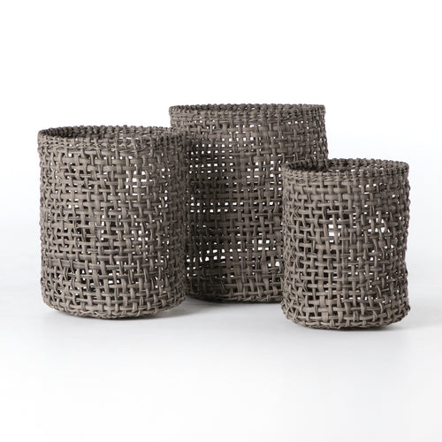 WOLEN BASKETS - NATURAL (SET OF 3) for $450.00